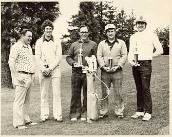 1970s Open Champions at Oregon City Golf Club