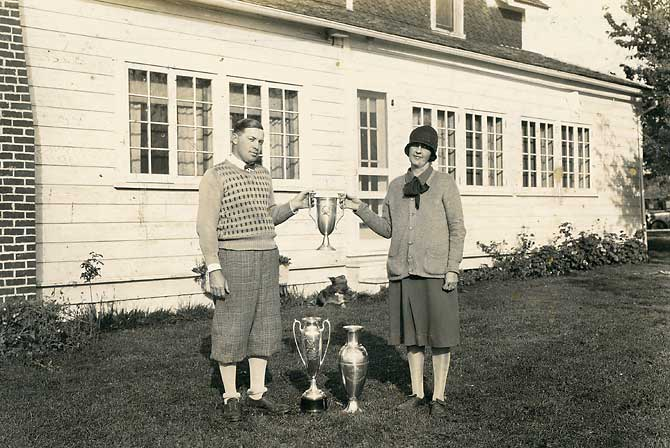 Oregon City Golf Club Open Trophy
