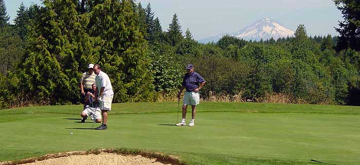 Oregon City Golf Club League Play